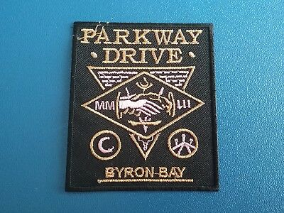 Punk Rock Heavy Metal Music Sew / Iron On Patch:- Parkway Drive Byron Bay