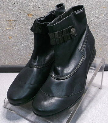 21c37b3ef3bfb9 GORSELA BLACK LMDSSBT90 Women s Shoes Size 7 M (EUR 4.5) Leather Boots  Mephisto