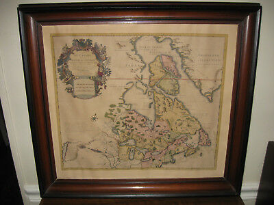 Canada And The Great Lakes Map By Guillaume De L'isle 1720 Framed