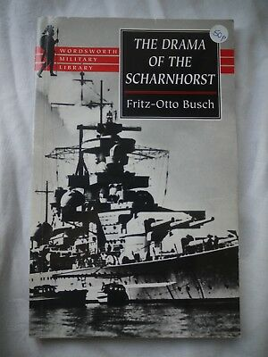 The Drama of the Scharnhorst - book PB THIRD REICH WWII - Fritz-Otto Busch