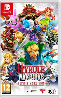 Hyrule Warriors: Definitive Edition (Nintendo Switch, 2018) NEW