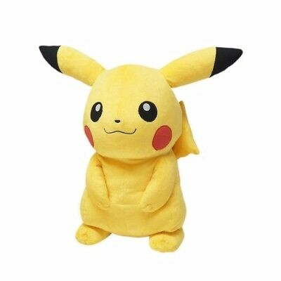 """Official Sanei Pokemon Go All Star Collection PP53 Pikachu 18"""" Plush"""