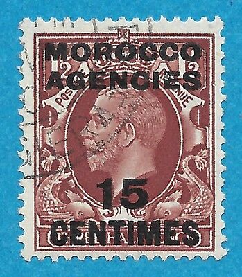Morocco Agencies  428 Used  George V French Currency
