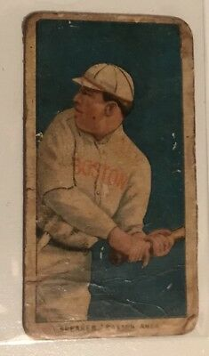 1909-1911 T206 Sweet Caporal Tobacco Baseball Card Boston Tris Speaker PSA 1?