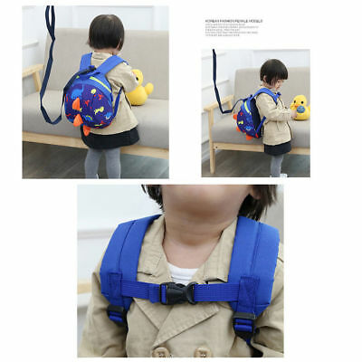 New Kids Baby Safety Harness Backpack Leash Child Toddler Anti-lost Dinosaur Bag