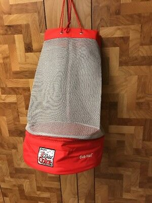 Diet Coke/Club Med Mesh Beach Tote Bag with Insulated Picnic Cooler NEW