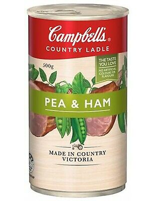Campbell Soups Country Ladle Soup Homestyle Pea And Ham 500g
