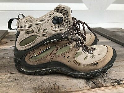 ee9b353a4f MERRELL Continuum Mid Hiking Boots Vibram Women's US Size 7 Waterproof
