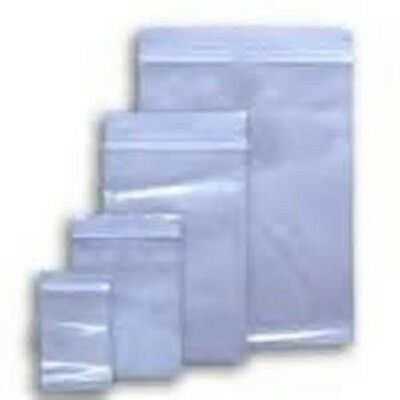 3x5 to 24x24 Clear HD Seal Top ZipLock Reclosable Poly 6 Mil Bags 6Mil Zip-Lock