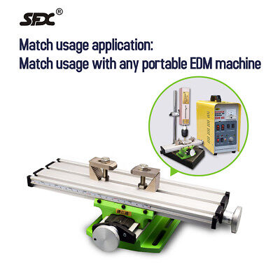 Mini Multi-function Working Table Milling Machine Worktable Fits Portable EDM