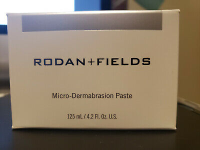NEW Rodan + and Fields ENHANCEMENTS MicroDermabrasion Paste Jar 4.2oz