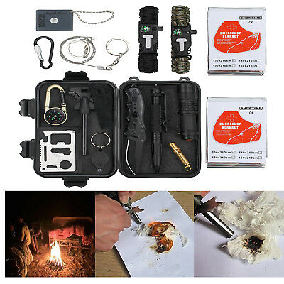 First Aid Survival Tool Rescue Gear Emergency Kit For any survivalist would need