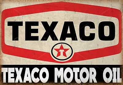 TEXACO OIL FLAG HUGE .Classic car show, Man Cave, Garage, Shed