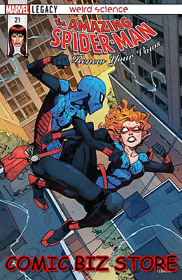 Amazing Spider-Man Renew Your Vows #21 (2018) 1St Printing Marvel Legacy Tie-In