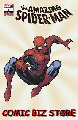 Amazing Spider-Man #1 (2018) 1St Printing Cheung Variant Cover Marvel Comics