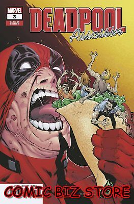 Deadpool Assassin #3 (Of 6) (2018) 1St Printing Coello Variant Cover
