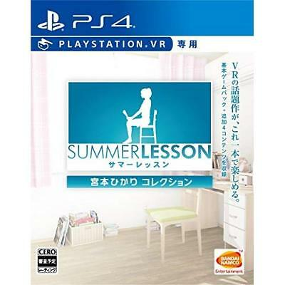 Used PS4 Summer Lesson: Hikari Miyamoto Collection for VR Japan Import