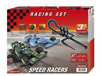 Carrera Bahn Racing Set Speed Inklusive 2 Autos & 2 Joysticks Autos Rennbahn NEU