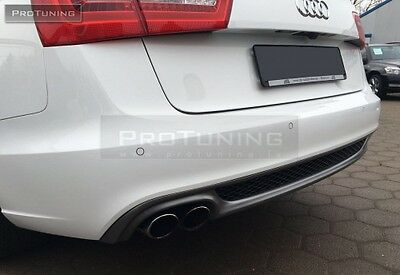 Simple Tail Pipe Left and Right A5 8T Sportback vorfacelift Rear Diffuser S-Line Look