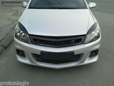 eyebrows for ASTRA H MK3 Headlight eyelids brows mask cover eye brows Twin top