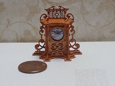 Lovely 1:12 Scale Laser Cut Ron Chase Clock