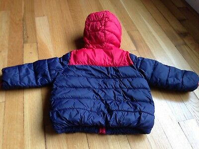 Baby Gap Kids Toddler Boys Winter Jacket Size 18-24 Months Red Puffer