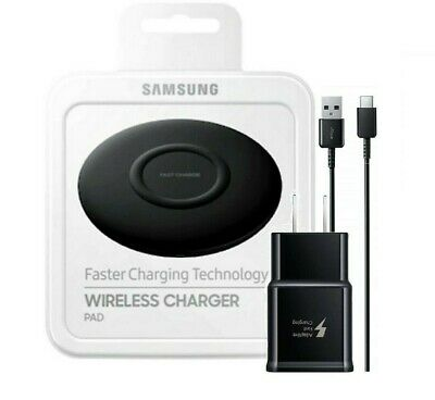 Samsung Wireless Charging Pad Qi Fast Charge Special Edition Wall Charger OEM