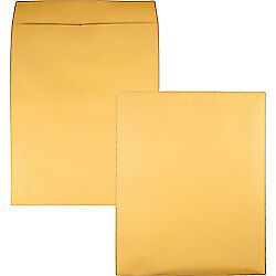 Quality Park(R) Jumbo Catalog Envelopes, 14in. x 18in., Brown, Box Of 25