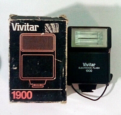 Vivitar 1900 Electronic Flash Adapter (BRAND NEW!)