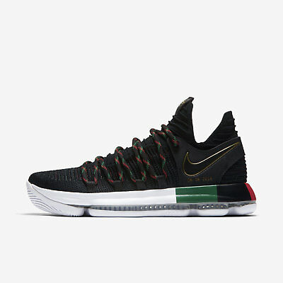 7b4eef4e451d9f Nike Zoom KD KD10 BHM Limited Black History Month Size 10 Shoes 897817-003  NEW