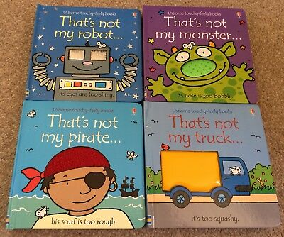 It's Not My Robot, Monster, Truck, Pirate Book Bundle