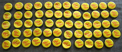 lot 59 USED TOPO CHICO metal BOTTLE TOPS Coca Cola Product Bottled Mineral Water