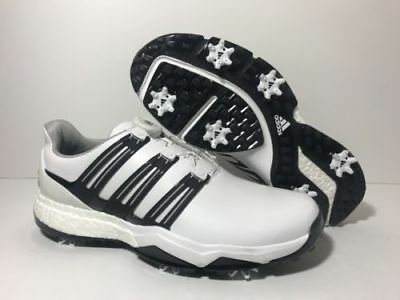5530a578d Adidas PowerBand BOA Men s Golf Shoes Q44768 Ultra Boost Size 11 White Black