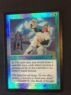 1x Words of Wind - Foil NM-Mint, English Onslaught MTG Magic The Gathering