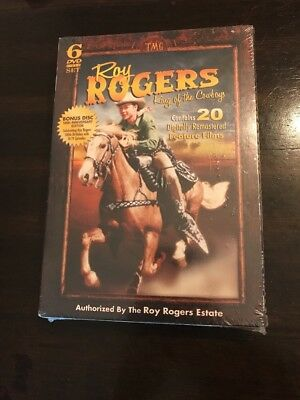 Roy Rogers: King of the Cowboys (DVD, 2010, 6-Disc Set) SEALED