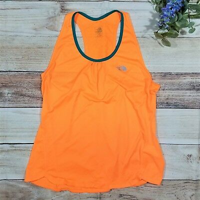 87b6a1fcdce30 THE NORTH FACE Flight Series Flash Dry Athletic Tank Top Orange Women s Size  XL