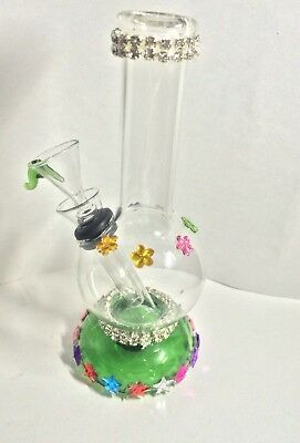 Hookah Water Pipe Glass Bong Smoking Pipe 6 inch Assorted colors large watertank