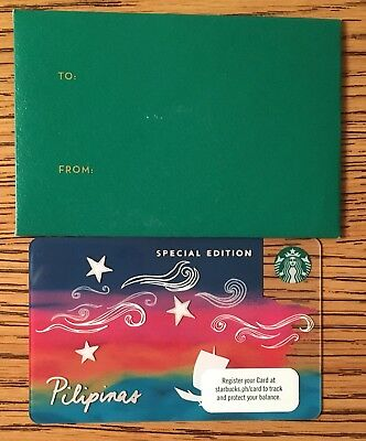 Starbucks 2017 Philippines Pilipinas KAPE VINTA Boat Card Special Edition
