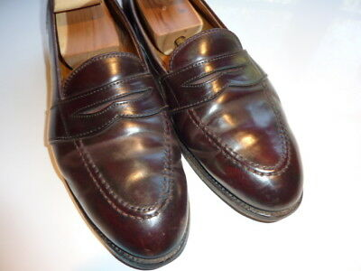 506a2e07dd930 Brooks Brothers Shell Cordovan Full Strap Penny Loafer Dress Shoes Men s  10.5 E