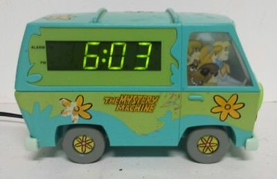 Scooby Doo The Mystery Machine Digital Alarm Clock -;As Is - Free Shipping!