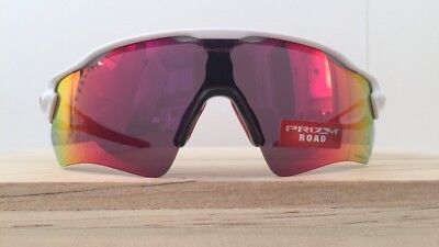8f58b5ccb NEW Oakley Radar EV Path Sunglasses Polished White Prizm Road Lens OO9208-05
