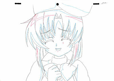 SALE! Anime Douga Not Cel: Higurashi no Naku Koro ni Rei #159 (1 Sketch)