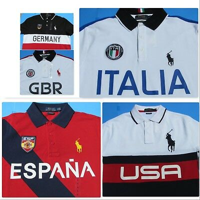 Polo Cup Eventsworld Men's Shirts Ralph Supporter Country Sport Lauren Szl WD9EeI2HY