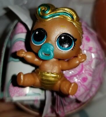 LOL Surprise Doll Lil Sister Lil Luxe 24K Gold