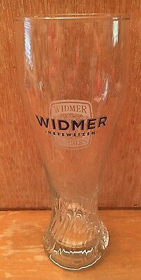 "Widmer Brothers, Hefeweizen Fluted Pilsner Style 22 Oz. Beer Glass, 9 1/4"" Tall"