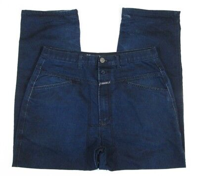 6f7bd0c2 MARITHE FRANCOIS GIRBAUD Loose Relaxed Blue Jeans Sz 36 (34W x 31.5L act) -  $32.50   PicClick