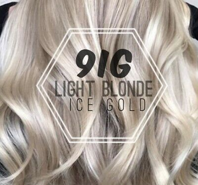 New! Guy Tang #Mydentity Demi-Permanent Hair Color LIGHT BLONDE ICE GOLD - 9IG