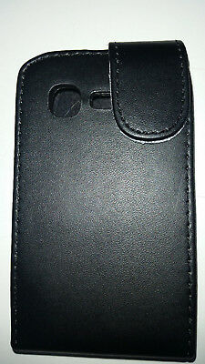 Samsung Pocket Neo black flip Case S5310