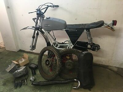 Fantic Caballero Part Finished Project Trial Twinshock Sports Moped