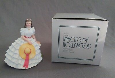 """Avon """"Images of Hollywood"""" Gone With the Wind Scarlett O'Hara Figurine With Box"""